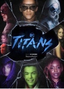 DC Titans Poster